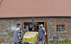 Vodácké muzeum - pramice